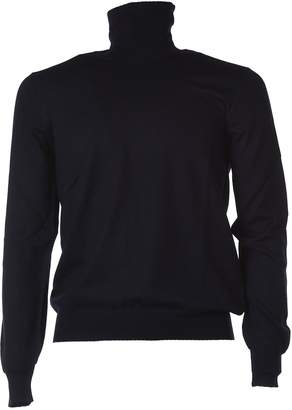 Fay Blue Turtleneck Jumper