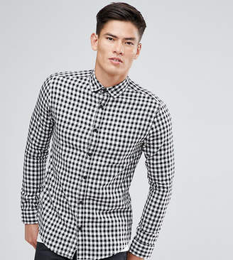ONLY & SONS Shirt In Slim Fit Gingham Check