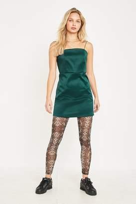 Urban Outfitters Snake Printed Sheer Mesh Legging