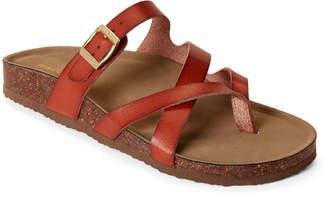 Madden-Girl Cognac Bartlet Slide Sandals