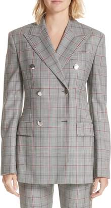 Calvin Klein Plaid Wool Jacket