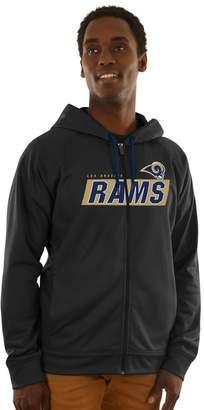 Majestic Men's Los Angeles Rams Game Elite Hoodie