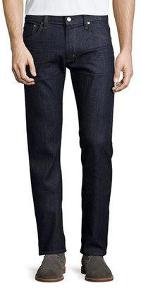Citizens Of Humanity Core Slim-Straight Lafayette Denim Jeans, Navy $198 thestylecure.com