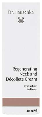 Dr. Hauschka Skin Care Regenerating Neck & Décolleté Cream, 40ml