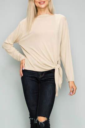Glam Rib knit pullover
