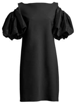Chiara Boni Women's Isla Cold Shoulder Dress - Black - Size 36 (0)