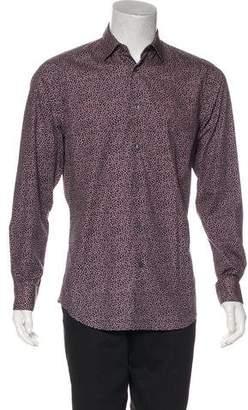 Paul Smith Floral Print Woven Shirt