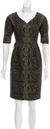 Gucci Sheath Jacquard Dress w/ Tags