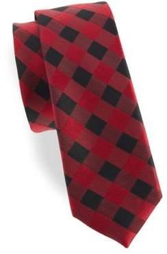 Lord & Taylor Boy's William Plaid Silk Tie