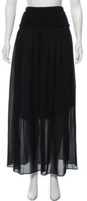 Isabel Marant Gathered Maxi Skirt