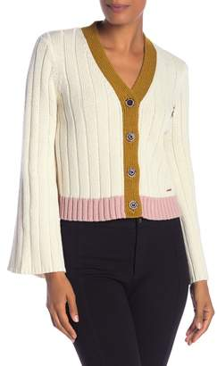 Ted Baker Relaxed Ribbed Cardigan
