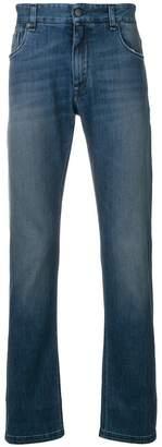 Fendi faded slim fit jeans