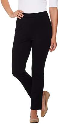 Shape Fx Regular Ponte Knit Pull-On Ankle Pants