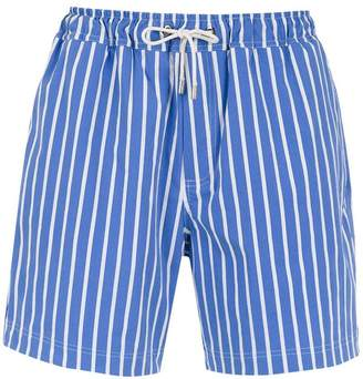 Egrey striped shorts