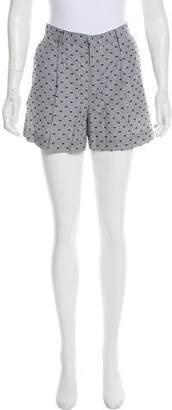 See by Chloe Striped Mini Shorts