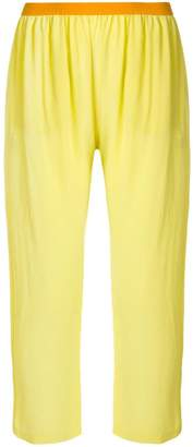 Semi-Couture Semicouture cropped trousers