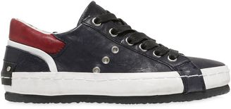 Nappa Leather Sneakers $128 thestylecure.com