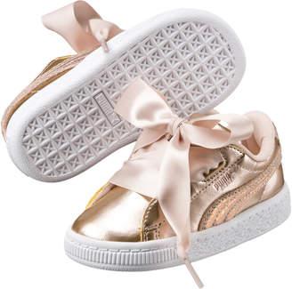 Basket Heart Lunar Lux Girls' Sneakers