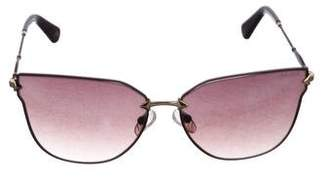 Balmain Cat-Eye Gradient Sunglasses