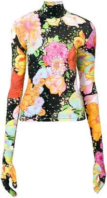 Richard Quinn floral print jumper