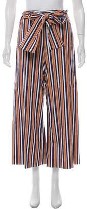 Tanya Taylor High-Rise Striped Pants w/ Tags