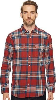Lucky Brand Men's Mitered Workwear Button up Shirt