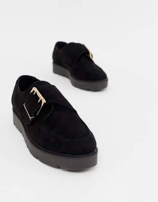 London Rebel chunky flat shoes