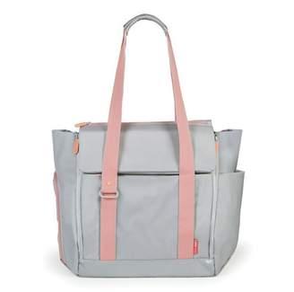 Skip Hop Fit All-Access Diaper Bag - Platinum/Coral