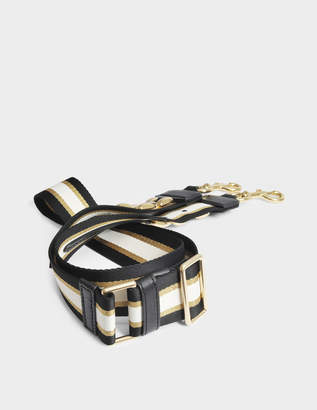 Marc Jacobs Metal Chain Guitar Strap Bag in Black Multi Polyester