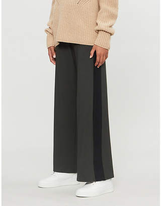 E.m. ME AND Palazzo stretch-jersey trousers