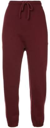 The Upside side stripe track pants