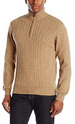 Tricot St. Raphael Men's 1/4 Zip Marl with Sherpa