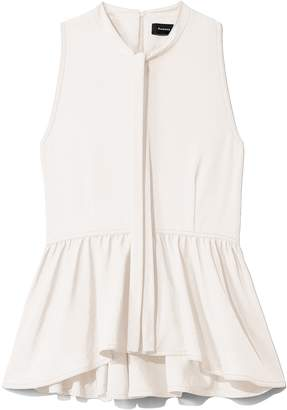 c021af0eecab19 Proenza Schouler Sleeveless Parachute Crepe Top in Off White