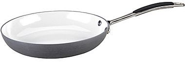 "JCPenney VinarozTM Vitoria 11"" Ceramic Nonstick Hard-Anodized Fry Pan"