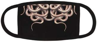 Marcelo Burlon County of Milan Snake Print Cotton Eye Mask