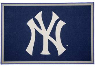 New York Yankees Delta Children MLB Blue/Gray Area Rug Delta Children