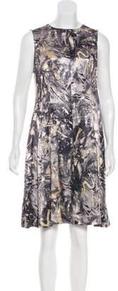 Thakoon Sleeveless Printed Dress w/ Tags