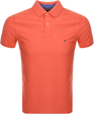 Tommy Hilfiger Classic Polo T Shirt Orange