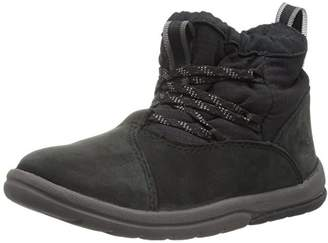 Timberland Baby Toddle Tracks Warm Fabric Leather Bootie Snow Boot