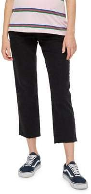 Topshop Maternity Straight-Fit Jeans