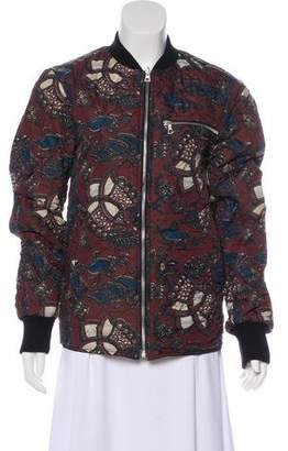 Dries Van Noten Quilted Bomber Jacket w/ Tags