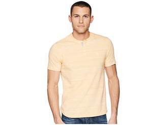 Original Penguin Short Sleeve Space Dye Henley