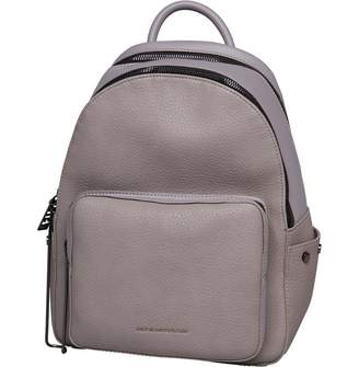 Juicy Couture Juicy By Womens Aspen Zippy Backpack Grey Grainy