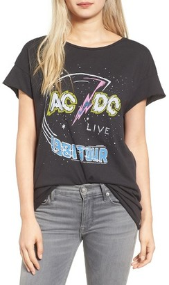 Women's Junk Food Ac/dc Tee $42 thestylecure.com