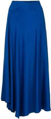 Joseph lightly pleated midi skirt
