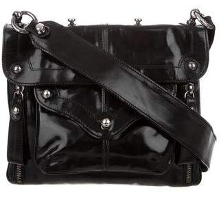 4ac66888b1d CNC Costume National Studded Patent Leather Crossbody