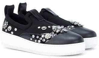 McQ Netil embellished sneakers
