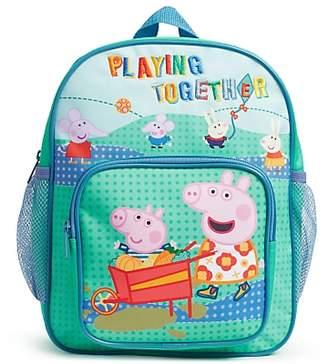 860ae34b40 John Lewis & Partners Peppa Pig and George Children's Backpack, ...