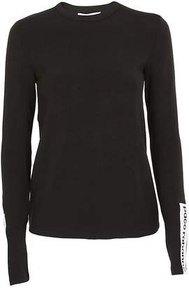 Paco Rabanne Logo On Sleeve Sweater