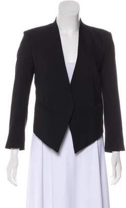 Helmut Lang Cropped Wool Blazer